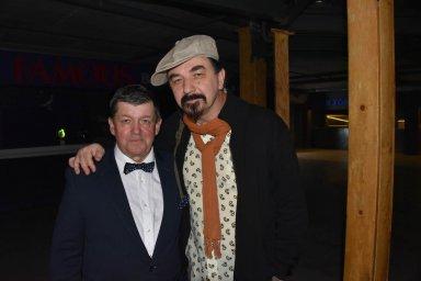 Юрий Михайличенко с Евгением Любимцевым