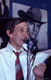 Аркадий Северный на записи концерта, 1970-е годы