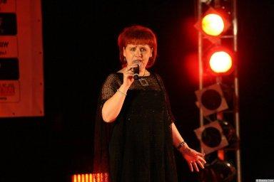 Ляля Рублёва 13 декабря 2008 года на фестивале Хорошая песня 9