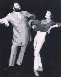 Ivan Rebroff с Марселем Марсо