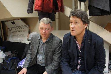 Владимир Черняков за сценой на концерте Новое и лучшее 17 февраля 2015 года