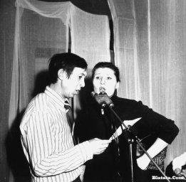 Аркадий Северный на записи концерта Проводы 1977 года 9