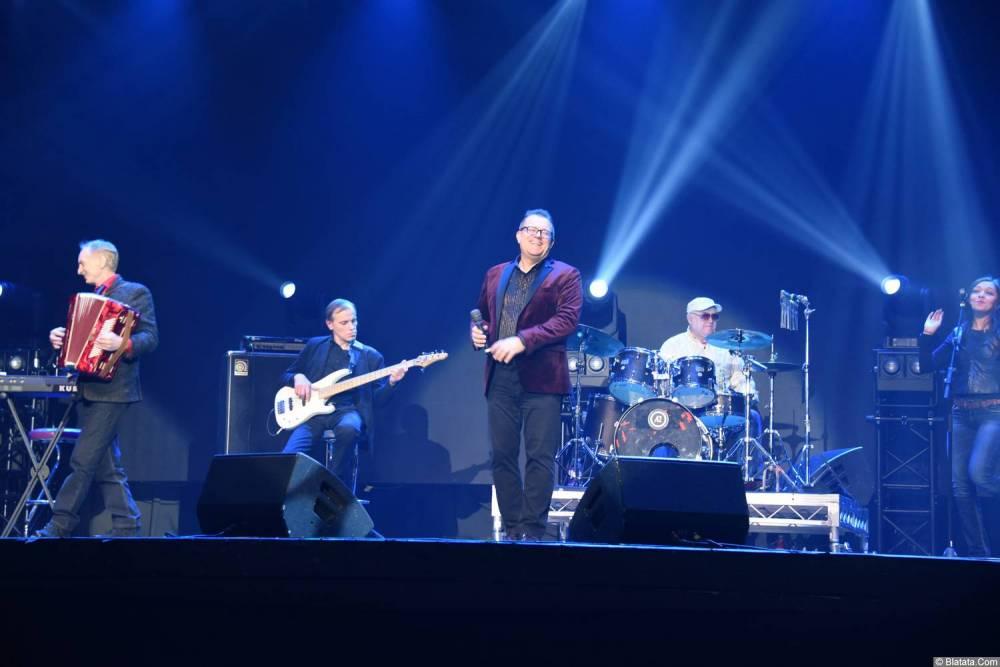 Виктор Баум на концерте в Питере 26 февраля 2018 года