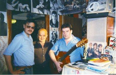 Александр Волокитин, Стас Ерусланов, А. Попов 2