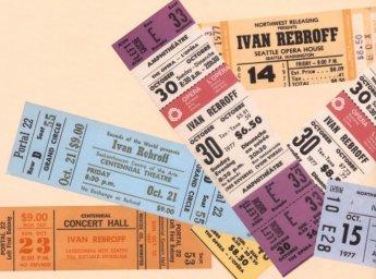 Билеты на концерты Ивана Реброва
