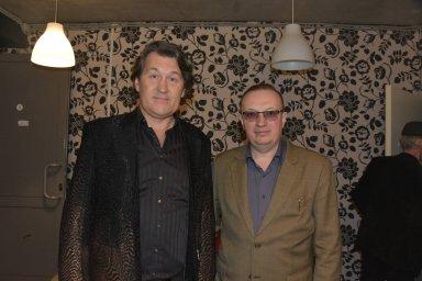 Владимир Черняков за кулисами на фестивале памяти Аркадия Северного 2018