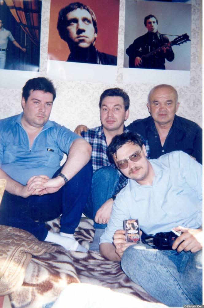 Александр Волокитин, Михаил Шелег, Стас Ерусланов, А. Попов