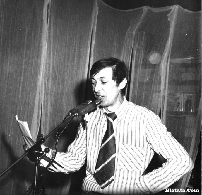 Аркадий Северный на записи концерта Проводы 1977 года 6