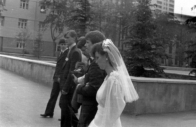 Жених, невеста и свидетели