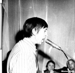 Аркадий Северный на записи концерта Проводы 1977 года 26