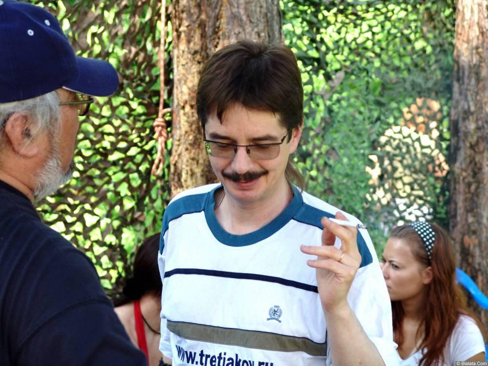 Виктор Третьяков на фестивале 2006 года