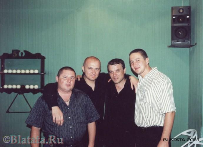 Александр Дюмин с пацанами в бильярдной