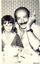 Александр Розенбаум с дочкой
