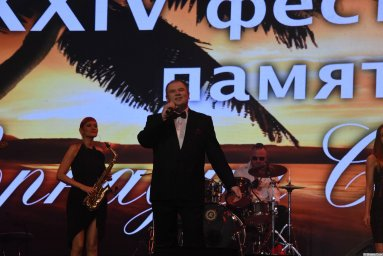 Олег Заикин на 24-м фестивале памяти Аркадия Северного 5