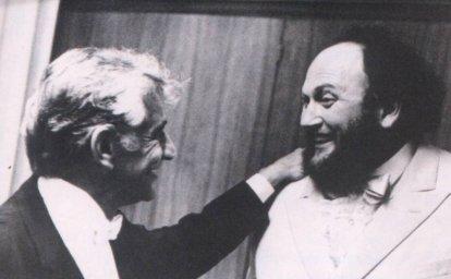 Ivan Rebroff & Leonard Bernstain