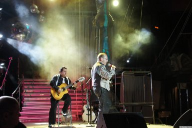 Алексей Дулькевич на сцене XIX фестиваля памяти Аркадия Северного 5