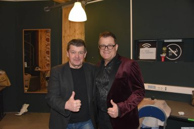 Виктор Баум и Евгений Любимцев на концерте 26 февраля 2018 года
