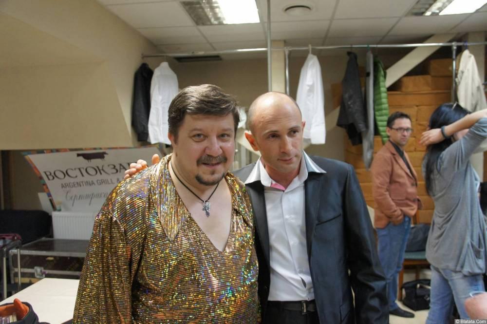 Владимир Стольный за кулисами XIX фестиваля памяти Аркадия Северного 1