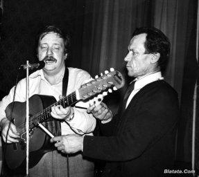 """Аркадий Северный на записи альбома с ансамблем """"Трезвость"""" в 1980 году 4"""