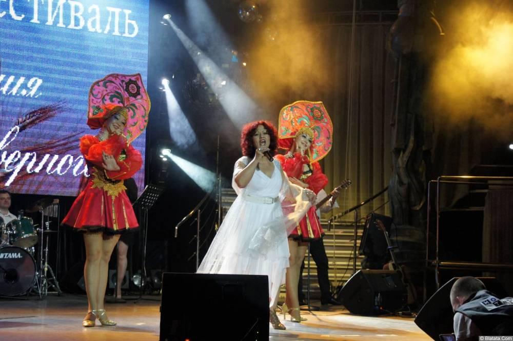 Ирина Каспер фото с XIX фестиваля памяти Аркадия Северного 23