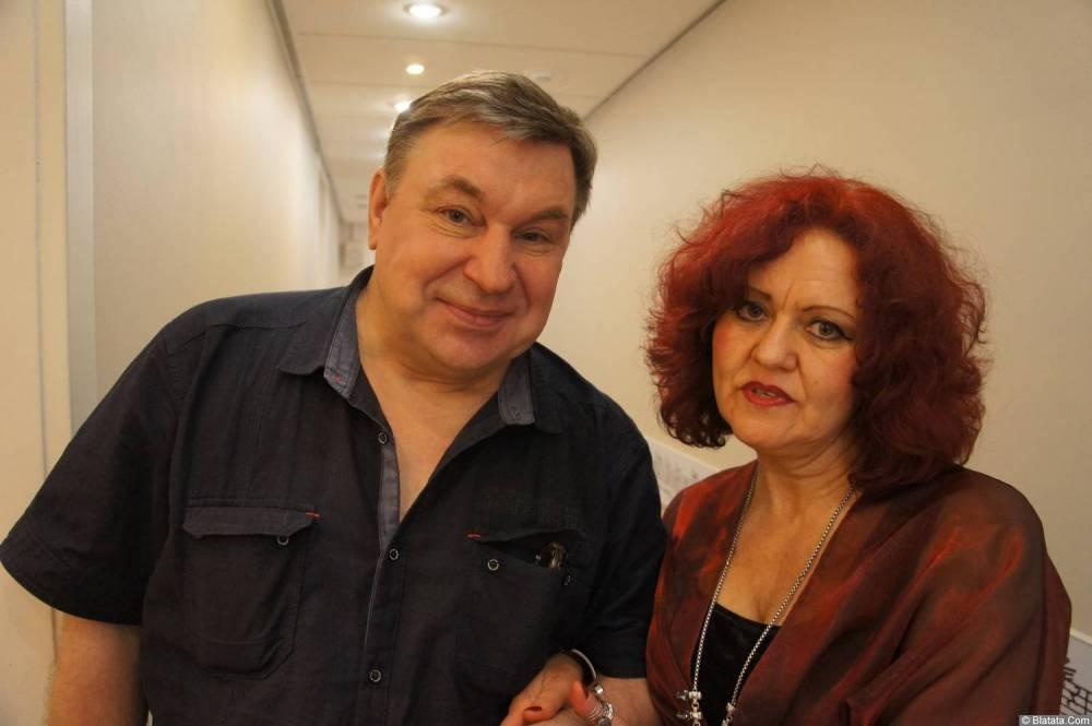 Михаил Шелег и Ирина Каспер на XX-м фестивале памяти Аркадия Северного