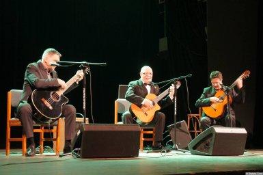 Алексей Авдеев в сопровождении ансамбля на концерте 21 января 2015 года