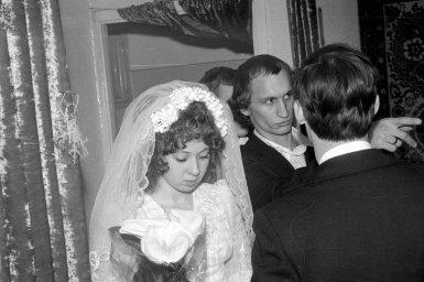 Невеста с цветами коала 1975 год