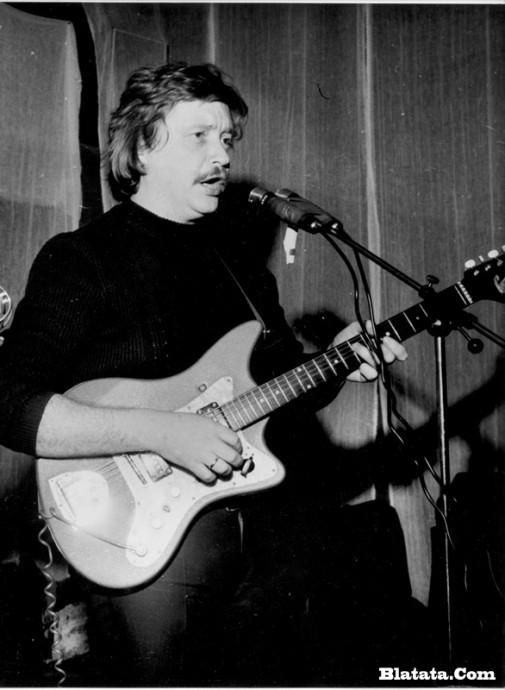 Аркадий Северный на записи концерта Проводы 1977 года 5