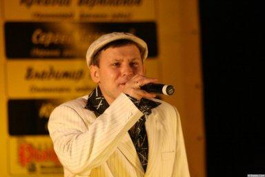 Юрий Белоусов 13 декабря 2008 года на фестивале Хорошая песня 7