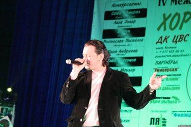 Виталий Волин 13-14 декабря 2008 года на фестивале Хорошая песня 3