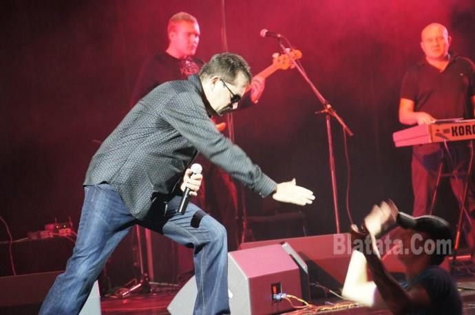 """Концерт группы """"Бутырка"""" в Калининграде. Владимир Ждамиров на сцене 9"""