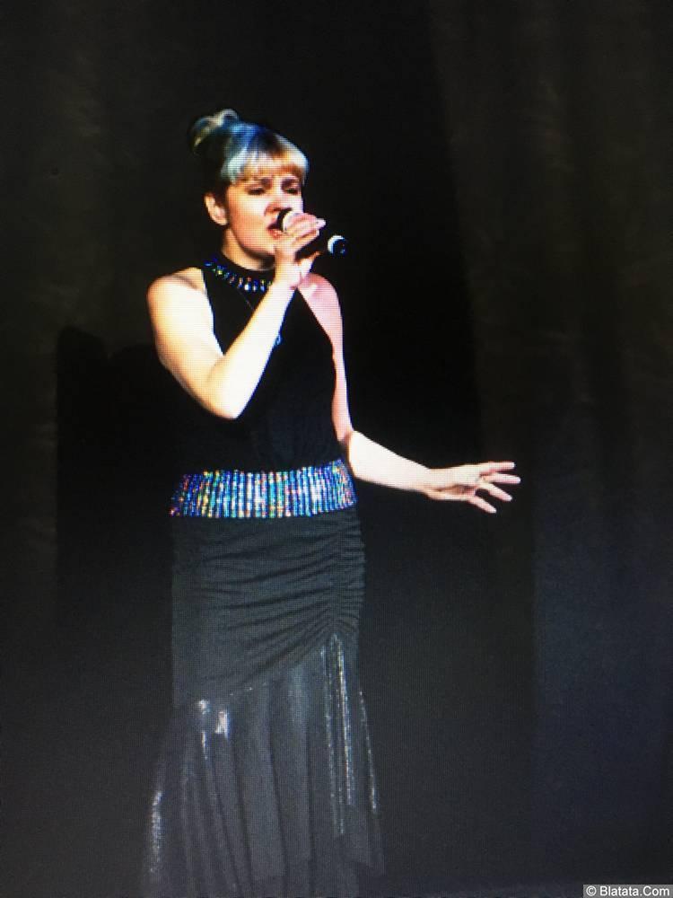 Елена Горбачева. Выступление на фестивале патриотической песни в городе Таруса