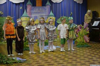 Елена Горбачева на работе. Показываем с дошколятами мою авторскую музыкальную сказку в стихах «Пчёлка Майя».