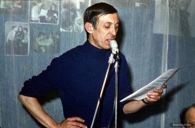 Аркадий Северный на записи концерта