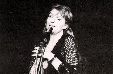 Анна Герман у микрофона