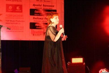 Ляля Рублёва 13 декабря 2008 года на фестивале Хорошая песня 6