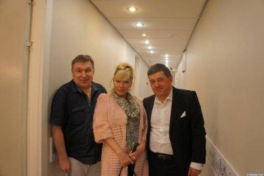 Михаил Шелег, Таня Тишинская и Евгений Любимцев на XX-м фестивале памяти Аркадия Северного