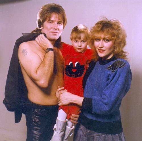 Юрий Лоза с женой и сыном