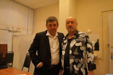 Владимир Асмолов и Евгений Любимцев на XX-м фестивале памяти Аркадия Северного