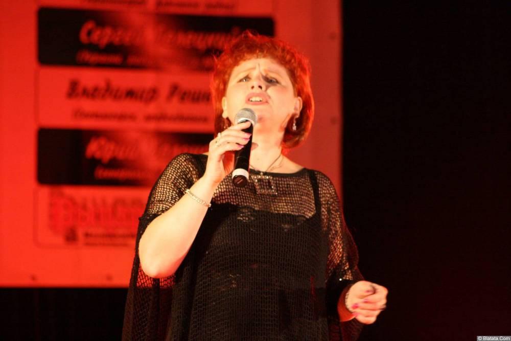Ляля Рублёва 13 декабря 2008 года на фестивале Хорошая песня 2
