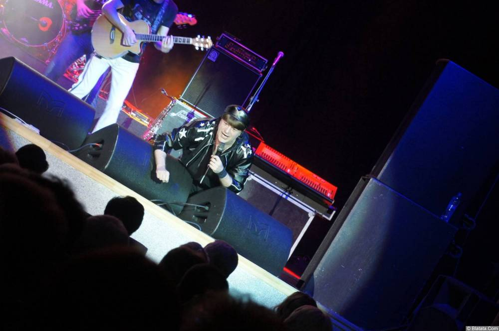 Виктор Королев на концерте 10 ноября 2015 года на сцене