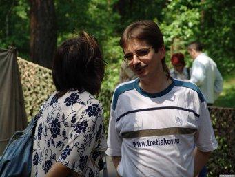 Виктор Третьяков на Ильменском фестивале