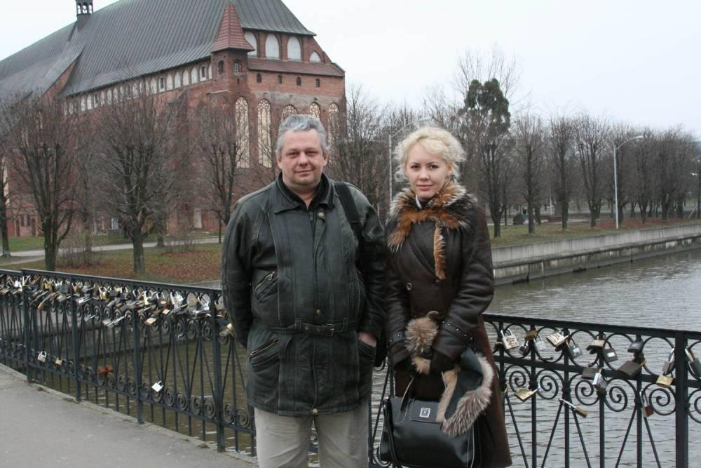 Юлия Андреева и Виктор Золотухин