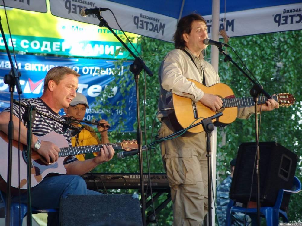 Олег Митяев на фестивале Ильменском 10 июня 2006 года