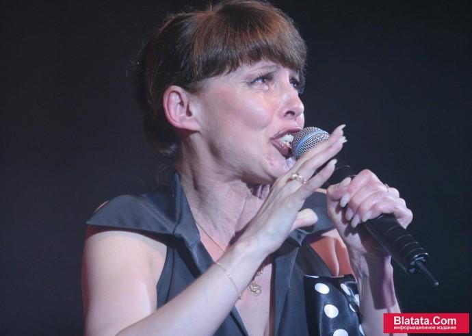 Татьяна Кабанова на сцене фестиваля шансона 7