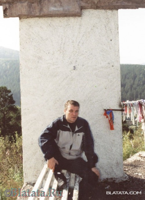 Александр Дюмин на лавочке