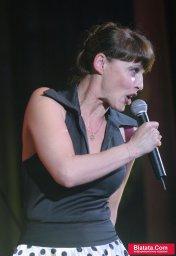 Татьяна Кабанова на сцене фестиваля шансона 5