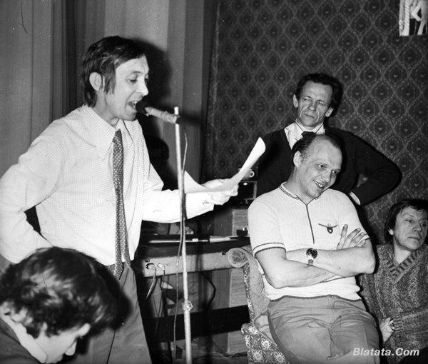 """Аркадий Северный на записи альбома с ансамблем """"Трезвость"""" в 1980 году 9"""