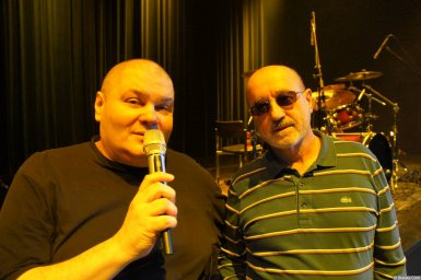 Владимир Асмолов и Александр Фрумин на XX-м фестивале памяти Аркадия Северного