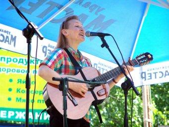 Галина Хомчик на Ильменском фестивале 2006 года